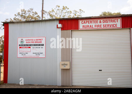 Capertee rural fire service offices in Capertee, New South Wales,Australia - Stock Photo