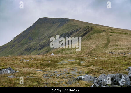 Wild Boar Fell, Mallerstang, in The Yorkshire Dales, England, UK - Stock Photo