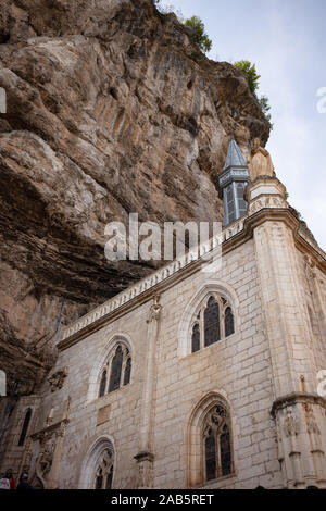 The Chapel at Rocamadour, France - Stock Photo