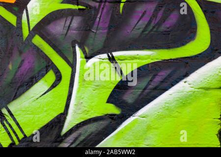 Schoene Graffity-Pfeile - Stock Photo