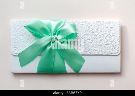 Elegant luxury wedding invitation - Stock Photo