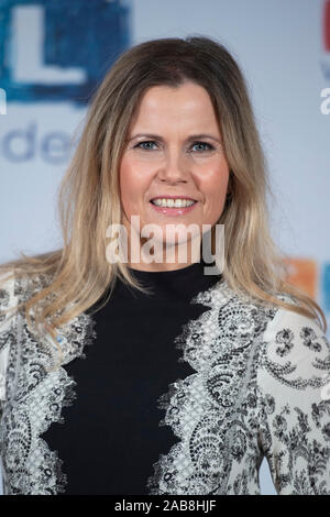 Michaela SCHAFFRATH, Actress, Portrait, PortrÃ_t, Portrait, Cropped Frame, Single Subject, 24th RTL Spendenmarathon 'Wir helfen Kindern', TV, 21.-22.11.2019. | Usage worldwide - Stock Photo