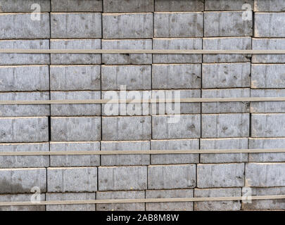Beautiful construction background. slab of paving slabs. - Stock Photo