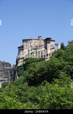 Holy Monastery of Rousanou, Meteora, UNESCO World Heritage Site, Thessaly, Greece