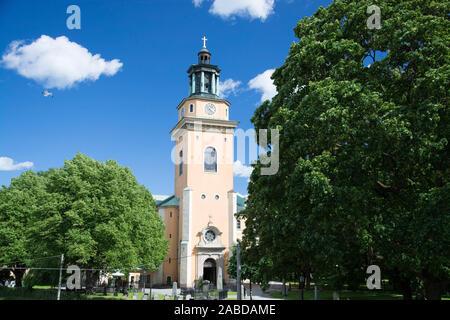 Stockholm ist die Hauptstadt und die größte Stadt Schwedens. - Stock Photo