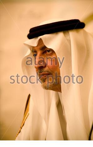 Prince Khalid Al Faisal, governor of Makkah province. - Stock Photo
