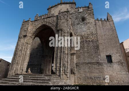 Duomo di Erice - Stock Photo