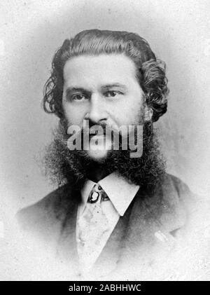 JOHANN STRAUSS II (1825-1899) Austrian composer in 1899 - Stock Photo