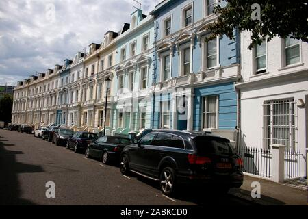 Notting Hill, Strassenszene/ street scene, London, England (nur fuer redaktionelle Verwendung. Keine Werbung. Referenzdatenbank: http://www.360-berlin - Stock Photo