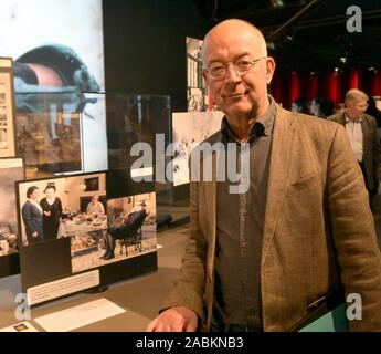 Actor Alexander Duda Rosenheim Cops At The Exhibition 100 Jahre Bavaria Film In Grunwald Here Beside A Presentation Of The Series Lowengrube Automated Translation Stock Photo Alamy