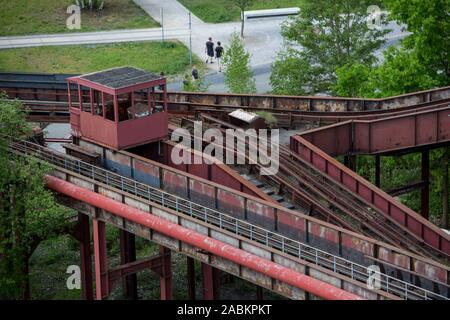 World heritage Zollverein colliery, in Essen, Germany - Stock Photo