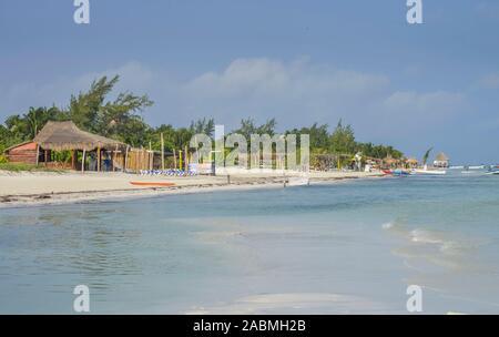 Sandstrand, Isla Holbox, Quintana Roo, Mexiko - Stock Photo
