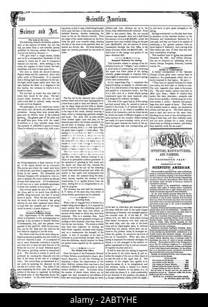 The Loss of the Ava. Natcher's Millstone Dress. Drawing Iron. The British Post Office. Douglass' Railroad Car Spring. Habits of Grasshoppers. THIRTEENTH YEAR SCIENTIFIC AMERICAN. PATENTS INVENTIONS ENGINEERING MILL WORK and knowledge the value of which is beyond pecuniary estimate. Much might be added to this Prospectus t in the United States should patroniXs ; but the publica 34 58 515 Fifteen Copies for Twelve Months 322 328 gratis to any part of the country. MUNN da CO. Publishers and Patent Agents, 1858-06-19 - Stock Photo