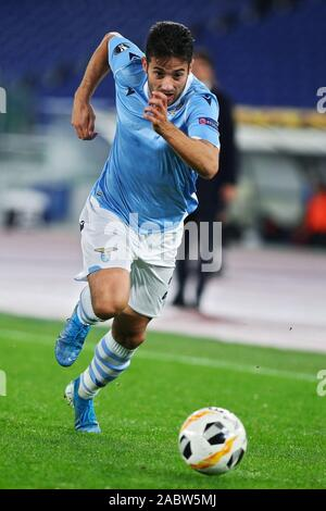 Jony of Lazio in action during the UEFA Europa League, Group E football match between SS Lazio and CFR Cluj on November 28, 2019 at Stadio Olimpico in Rome, Italy - Photo Federico Proietti/ESPA-Images - Stock Photo
