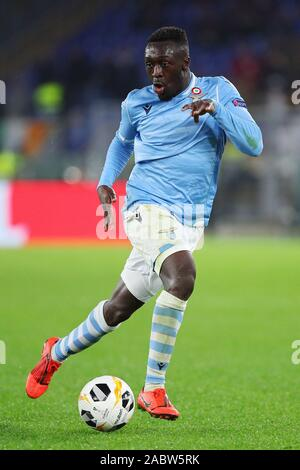 Bobby Adekanye of Lazio in action during the UEFA Europa League, Group E football match between SS Lazio and CFR Cluj on November 28, 2019 at Stadio Olimpico in Rome, Italy - Photo Federico Proietti/ESPA-Images - Stock Photo