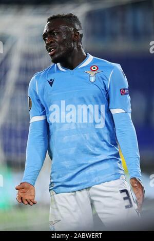 Bobby Adekanye of Lazio reacts during the UEFA Europa League, Group E football match between SS Lazio and CFR Cluj on November 28, 2019 at Stadio Olimpico in Rome, Italy - Photo Federico Proietti/ESPA-Images - Stock Photo
