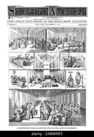 Entered at the Post Office of New York N. Y. as Second Class Matter. rt43.20 per Annum. [NEW SERIES. 01 0 (A'  ow Amen Aspon wiatiM, scientific american, 1880-12-11 - Stock Photo