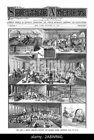 Entered at the Post Office of New York N. Y. as Second Class Matter. [NEW SERIES.), scientific american, 1882-01-14 - Stock Photo