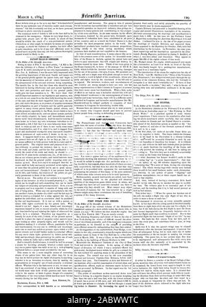 PATENT BILLS IN CONGRESS. FIRE DAMP EXPLOSIONS. FIRST STEAM FIRE ENGINE. BEE CULTURE. Limbs of Unequal Length., scientific american, 1884-03-01 - Stock Photo