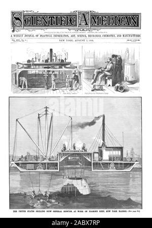 A WEEKLY JOURNAL OF PRACTICAL INFORMATION ART SCIENCE MECHANICS CHEMISTRY AND MANUFACTURES., scientific american, 1891-08-01 - Stock Photo
