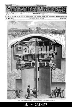 A WEEKLY JOURNAL OF PRACTICAL INFORMATION ART SCIENCE MECHANICS CHEMISTRY AND MANUFACTURES., scientific american, 1892-07-30 - Stock Photo