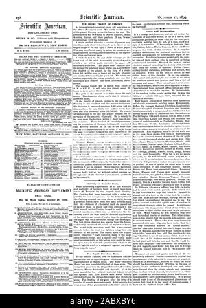 Genius and Degeneration. No. 361 BROADWAY NEW YORK. TERMS FOR THE SCIENTIFIC AMERICAN. Remit by postal or express money order or by bank draft or chem. MUNN & CO. 361 Broadway corner of Franklin Street New York. The Scientific American Supplement is issued weekly. Every number contains 16 octavo pages uniform in size $600 a year for the U. S. Canada or Mexico. $6.00 a year to foreign countries belonging to the Postal Union. Single copies 10 cents. Sold by all newsdealers throughout the country. See prospectus last page. Building Edition. . taming floor plans perspective views and sheets of - Stock Photo