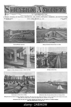 WEEKLY JOURNAL OF PRACTICAL INFORMATION ART SCIENCE MECHANICS CHEMISTRY AND MANUFACTURE&, scientific american, 1900-03-24 - Stock Photo