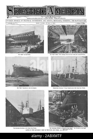 A WEEKLY JOURNAL OF PRACTICAL INFORMATION ART SCIENCE MECHANICS CHEMISTRY AND MANUFACTURES., scientific american, 1901-06-08 - Stock Photo