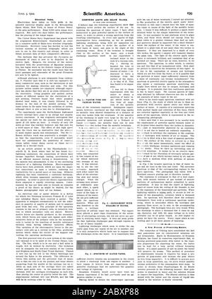 Electrical Notes. LIGHTNING ABOVE AND BELOW WATER. BY PROF. JOHN TROWBRIDGE. A New Process of Preserving Butter. IsereININININI ia 1SMMIIIIIII00401, scientific american, 1902-04-05 - Stock Photo