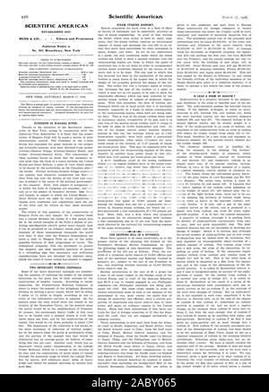 SCIENTIFIC AMERICAN ESTABLISHED 1845 MUNN & CO. - Editors and Proprietors Published Weekly at No. 361 Broadway New York -4, 06-03-17 - Stock Photo