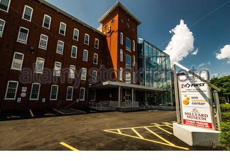 See Science Center _ Manchester, New Hampshire, USA - Stock Photo