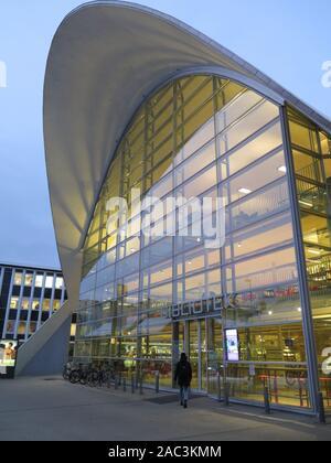 Tromso, Municpal library - Stock Photo