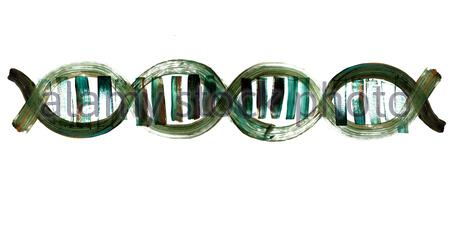 DNA, deoxyribonucleic acid, Double Helix, DNA Strand, Helix, Genome, dna strand, life, genome, human, code, molecular, gene, spiral, Biotechnology - Stock Photo