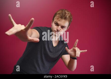 Yo Hand Sign