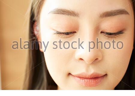 Face-up women - Stock Photo