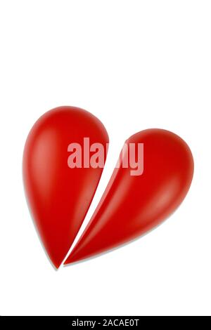 Gebrochens Herz - broken heart - Stock Photo