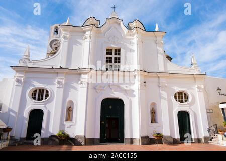 Chiesa di Santa Sofia, Anacapri, Capri, Italy - Stock Photo