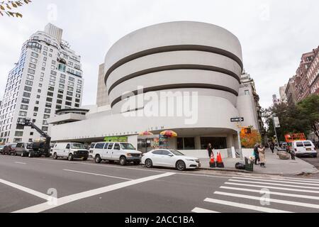 Solomon. R. Guggenheim Museum, 5th Avenue, Manhattan, New York City, NY, United States of America. U.S.A.