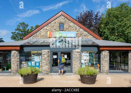 The Braunton Countryside Centre, Caen Street, Braunton, Devon, England, United Kingdom - Stock Photo