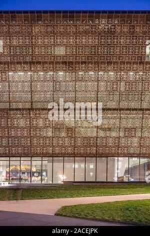 National Museum of African American History and Culture designed by David Adjaye