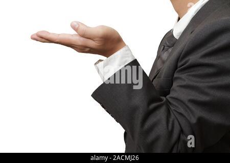 hands in offering gesture - Stock Photo