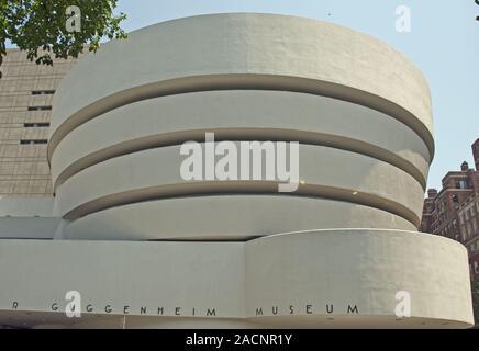 Solomon R. Guggenheim Museum, Upper East Side, Manhattan, New York City, USA, Nordamerika, Amerika