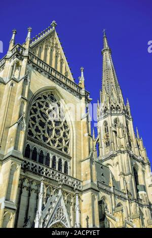 The New Cathedral in Linz, Austria - Stock Photo