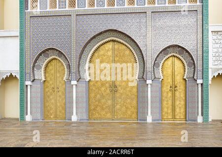 Oriental architecture, Morocco - Stock Photo