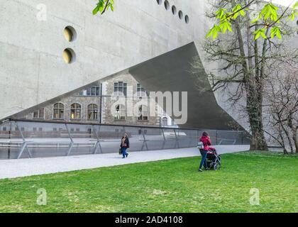 Landesmuseum, Museumstrasse, Zürich, Schweiz - Stock Photo