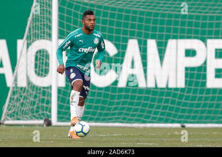 Sao Paulo, Brazil. 03rd Dec, 2019. Borja during training of Palmeiras held at the Football Academy located in the neighborhood of Barra Funda in Sao Paulo (SP). Credit: Foto Arena LTDA/Alamy Live News - Stock Photo