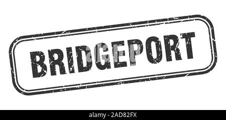 Bridgeport stamp. Bridgeport black grunge isolated sign - Stock Photo