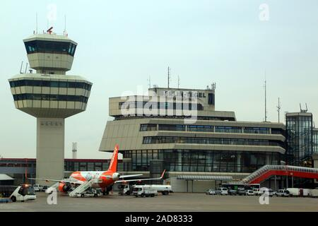 Berlin, Tegel Airport, Otto Lilienthal - Stock Photo
