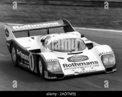 Jacky Ickx Porsche 962 Monza 1000 Km 1985 Stock Photo Alamy