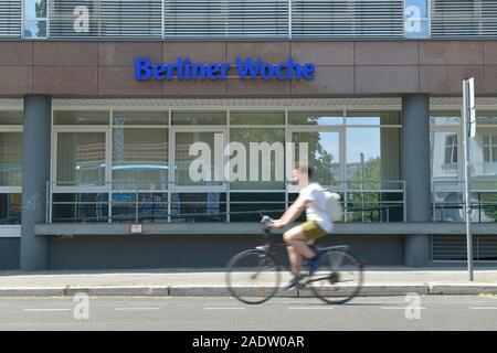 Berliner Woche, Stresemannstraße, Kreuzberg, Friedrichshain-Kreuzberg, Berlin, Deutschland - Stock Photo